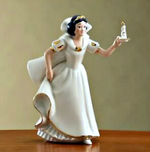 Lenox Disney Snow White Princess Whats Upstairs Figurine plus Free Disney Doll