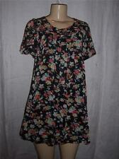 TwentyOne by Sarah Jessica Parker dress Black Floral  Size Medium  NEW with tag