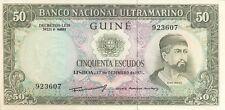 A SAISIR  BILLET DE 50  ESCUDOS GUINEE PORTUGAISE  NEUF  1971      !!!!    UNC