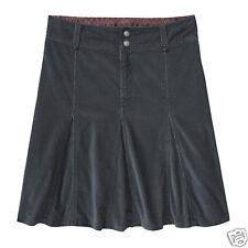 ATHLETA Whenever Cord Skirt, NWT/NWD,  Size  10, Asphalt