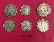 Foreign Silver Coins, Lot of 6, Lot #532, Germany,Canada,Netherland s,Australia