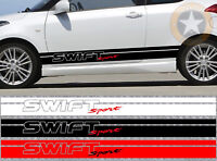 2 X BANDES DECO RACING POUR SUZUKI SWIFT AUTOCOLLANT STICKER BD505