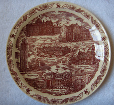 Vernon Kilns pottery University of Kansas plate~ROCK CHALK~JAYHAWK~GO KU~NR