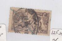 GB KGV 1918 2s 6d Bradbury Seahorse SG414 Fine Used JK1648