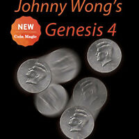 Johnny Wong's Genesis 4 (with DVD) by Johnny Wong Coin Magic Tricks Gimmick Fun