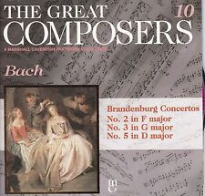 THE GREAT COMPOSERS #10 Bach / Brandenburg Concertos CD
