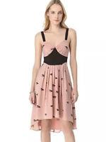 Viva Vena! by Vena Cava Pleated Print Dress Size 8