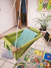 Zebulhamac Babyschaukel mit Matratze und Springfeder incl., Schaukel, Wippe