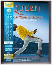 Queen , Live At Wembley Stadium - 25th Anniversary Edition (2 DVD_2 CD-SHM_JPN)