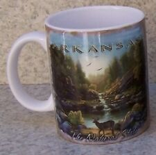 Coffee Mug Explore America Arkansas Montage NEW 11 ounce cup with gift box
