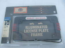 New Harley Illuminated License Plate Frame Kit 59478-04 Sportster Softail Dyna