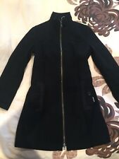 Genuine DKNY Ladies Black Tailored Coat (size L, fits UK 12-14)