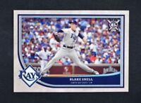 2018 Topps Big League Baseball Base #16 Blake Snell TAMPA BAY RAYS CY YOUNG