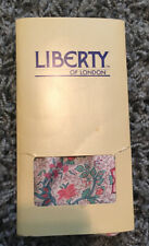 Vintage Liberty of London 100% Silk Floral & Paisley Scarf