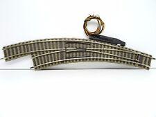 Fleischmann Profigleis H0 6142 elektrische Bogenweiche links Top C3270