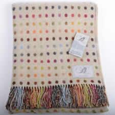 Bronte by Moon reversible Multispot Merino Lambswool Throw