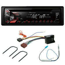 Pioneer DEH-1900UB Car MP3 Stereo + Fascia Fitting Kit for Peugeot 207 (2006>)