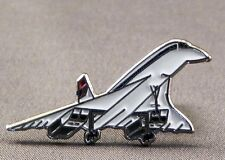 Metal Enamel Pin Badge Brooch Concorde