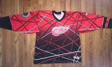 Detroit Red Wings Jersey Nike Street Hockey Rare Mens XL Preowned NHL Nike