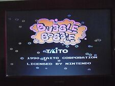 NINTENDO NES -  BUBBLE BOBBLE - PAL - GAME ONLY -WORKING