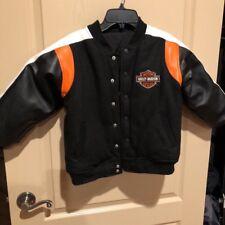 Harley Davidson Reversible Jacket Kids Size 6