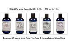 SLS & Paraben Free Bubble Bath -5 scents Rose, Lavender, Orange & Lime, Tea Tree