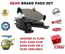 FOR JAGUAR XJ XJ40 XJ81 X300 X330 X308 XJSC XK 8 X100 1986-2003 REAR BRAKE PADS