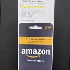 Buono Amazon 25€ PIN
