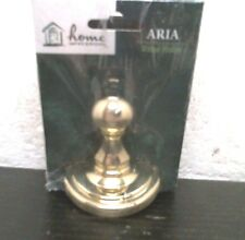 Home Impressions 409800 Aria Robe Hook 409800 Polished Brass