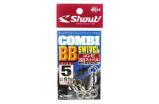Shout 413-CB Combi BB Swivel with Split Ring Combo For Jigging Size 5 (2020)