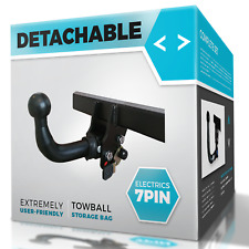 Detachable Towbar with Electric Kit 7Pin for BMW 1 SERIES 04-11 E87 Hatchback 5d