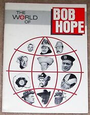 1990s The World Of Bob Hope - Nbc Television Biographical Booklet - B&W Photos