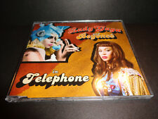 TELEPHONE by LADY GAGA & BEYONCE-Rare Collectible CD single with Alphabeat Remix