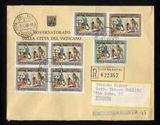 VATICANO - 1962 - Natale su busta