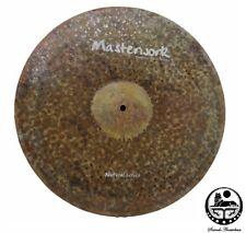 Masterwork Cymbals 18-inch Natural Ride Sizzle / Rivets