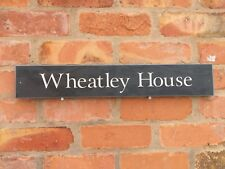 FANTASTIC QUALITY SLATE HOUSE SIGNS 600 X 100MM ANY NAME FAST DISPATCH!!