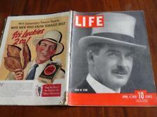 LIFE MAGAZINE April 4,1938 Arts Rumba Cuba Britain Circus Devil's Island China