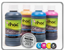 RIHAC Refill Ink for HP 564 Officejet 4620 E910 Deskjet 3520 3070A CISS Bulk Ink