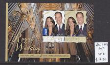 2011  ROYAL WEDDING SHEETLET  CTO/USED  ASC 2889MS..