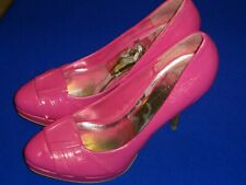 Wild Diva Hot Pink Platforn High Heel Pumps Size 8
