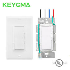 Single Switch & 3-Way Dimmer - LED Dimmer Switch - LED 150W /CFL 600W