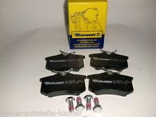 kb17 )  4 BARUM Bremsbeläge, Bremsbelege, Bremsbelag, hinten Audi A4 8E2, B6,
