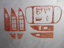 2001-2003 Ford F150 4 Door 4dr Crew Cab Dash Trim Kit Overlay Oxford Burl Look