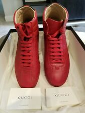 Authentic Gucci High Top signature sneaker Mens size 8 Excellent Condition!