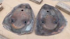 1939 Chevy FRONT FENDER PATCH PANELS for HEADLIGHT MOUNTING AREA Original pair