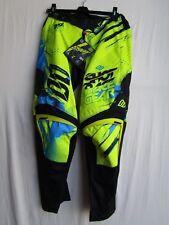 SHOT race gear CAPTURE motocross MENS pants size 28 neon yel A0F-11C1-A08-28