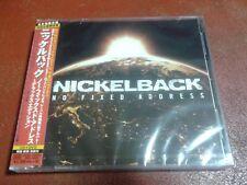 Nickelback - No Fixed Address Japanese CD+DVD / UICU 9080 / Sealed!