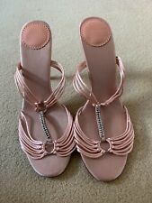 Ted Baker Crystal Peach High Heels Size 6