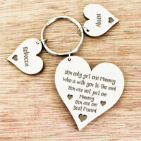 Personalised Mothers Day Gifts For Her Mum Mummy Grandma Nana Auntie Nan Keyring