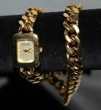 Joan Rivers Classics Wrap Around Chain Bracelet Watch ~ Working with New Battery